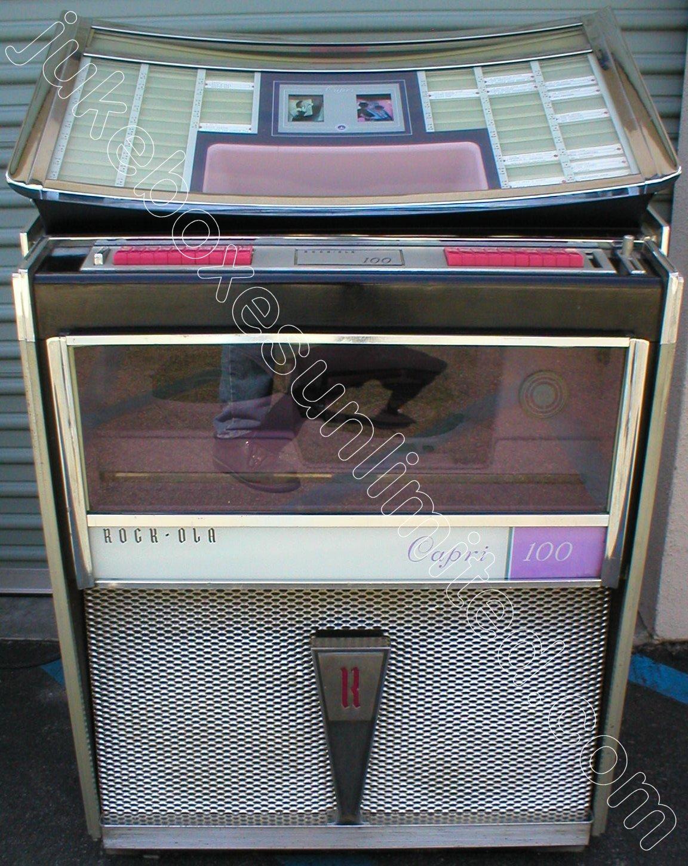 Rockola Jukebox Values 1963 Rockola 404 Jukebox For