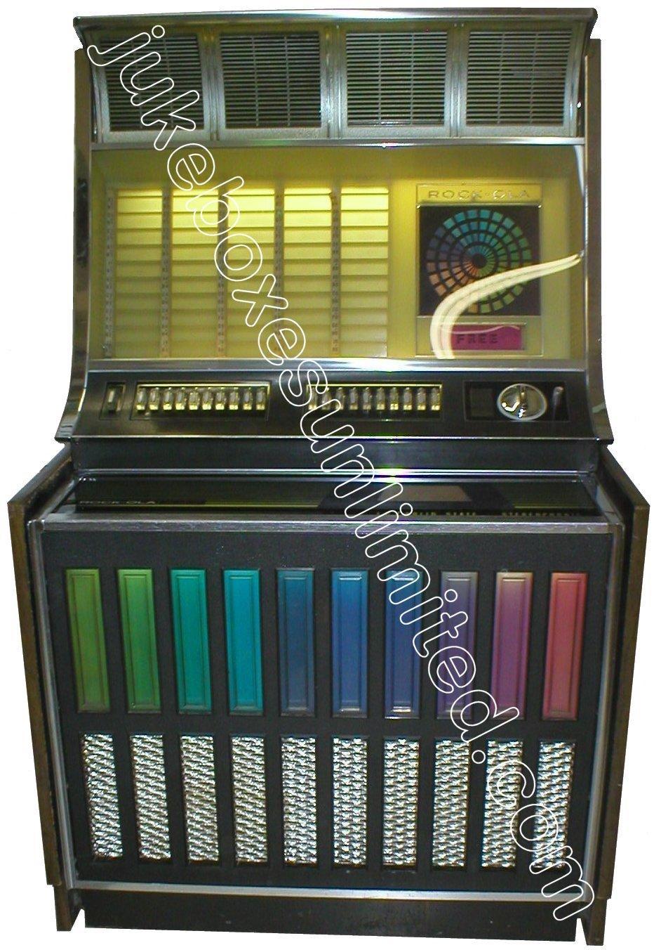 Rockola Jukebox Values 1970 Rockola 443 Jukebox For