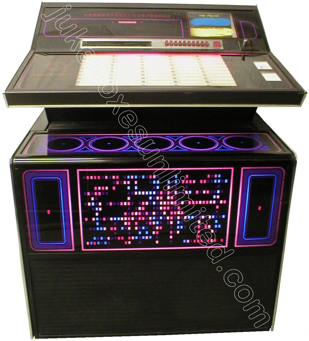 Rockola Jukebox Values 1974 Rockola 453 Jukebox For