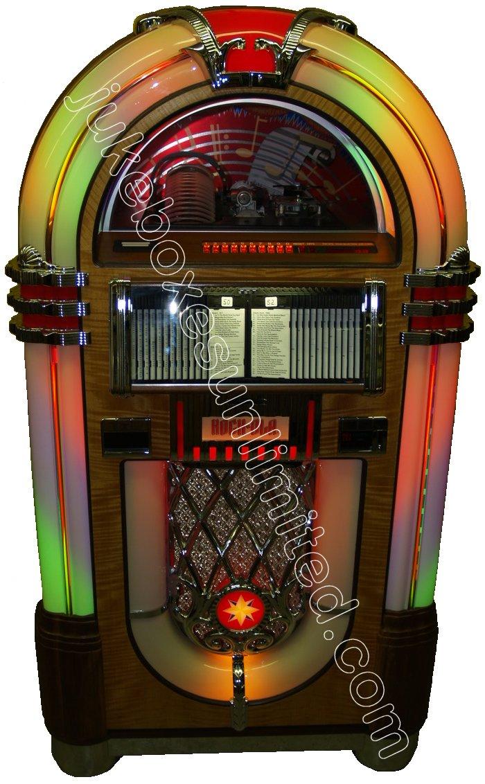 Rockola Jukebox Values 1994 Rockola Cd-8 Jukebox