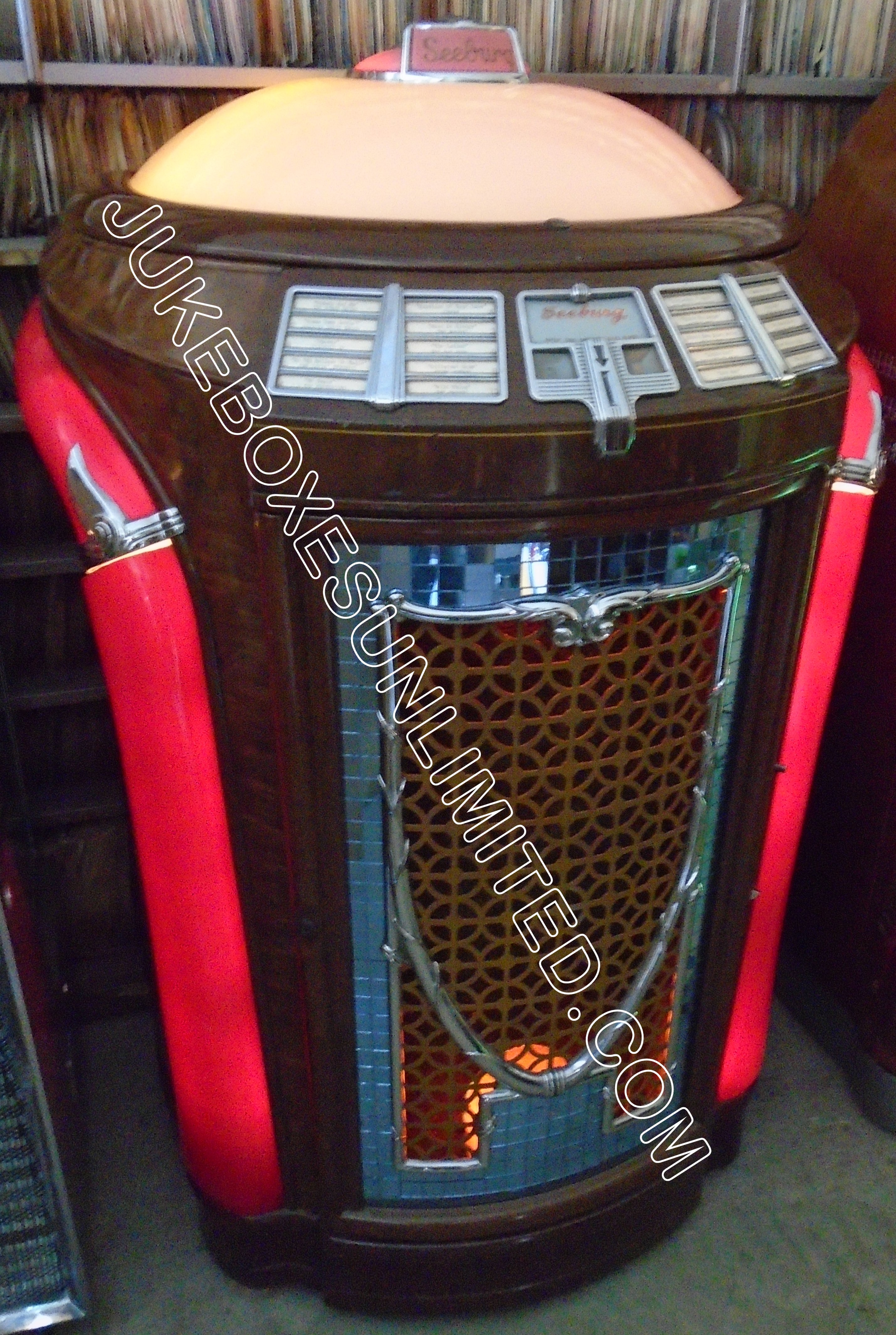 A Seeburg Symphonola 1 48 Trashcan Jukebox Model 148 20 Selections 78rpm Circa 1948