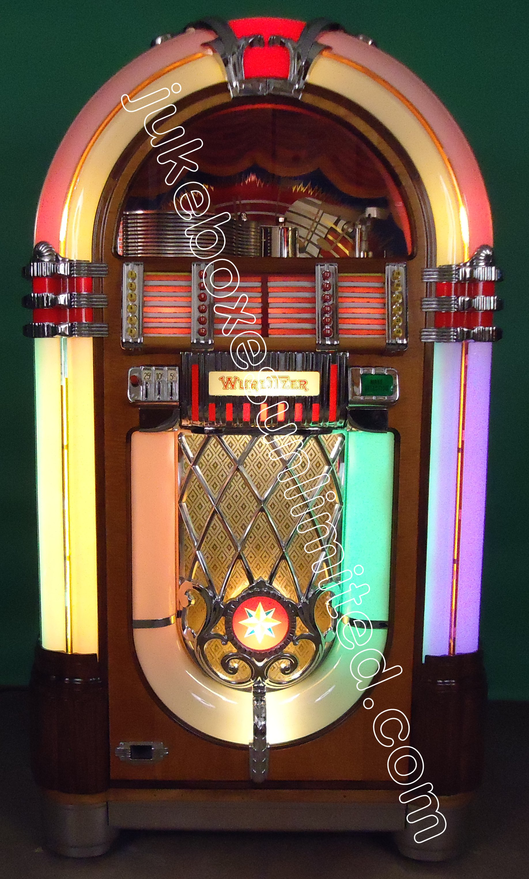 1946 wurlitzer 1015 jukebox for sale. Black Bedroom Furniture Sets. Home Design Ideas