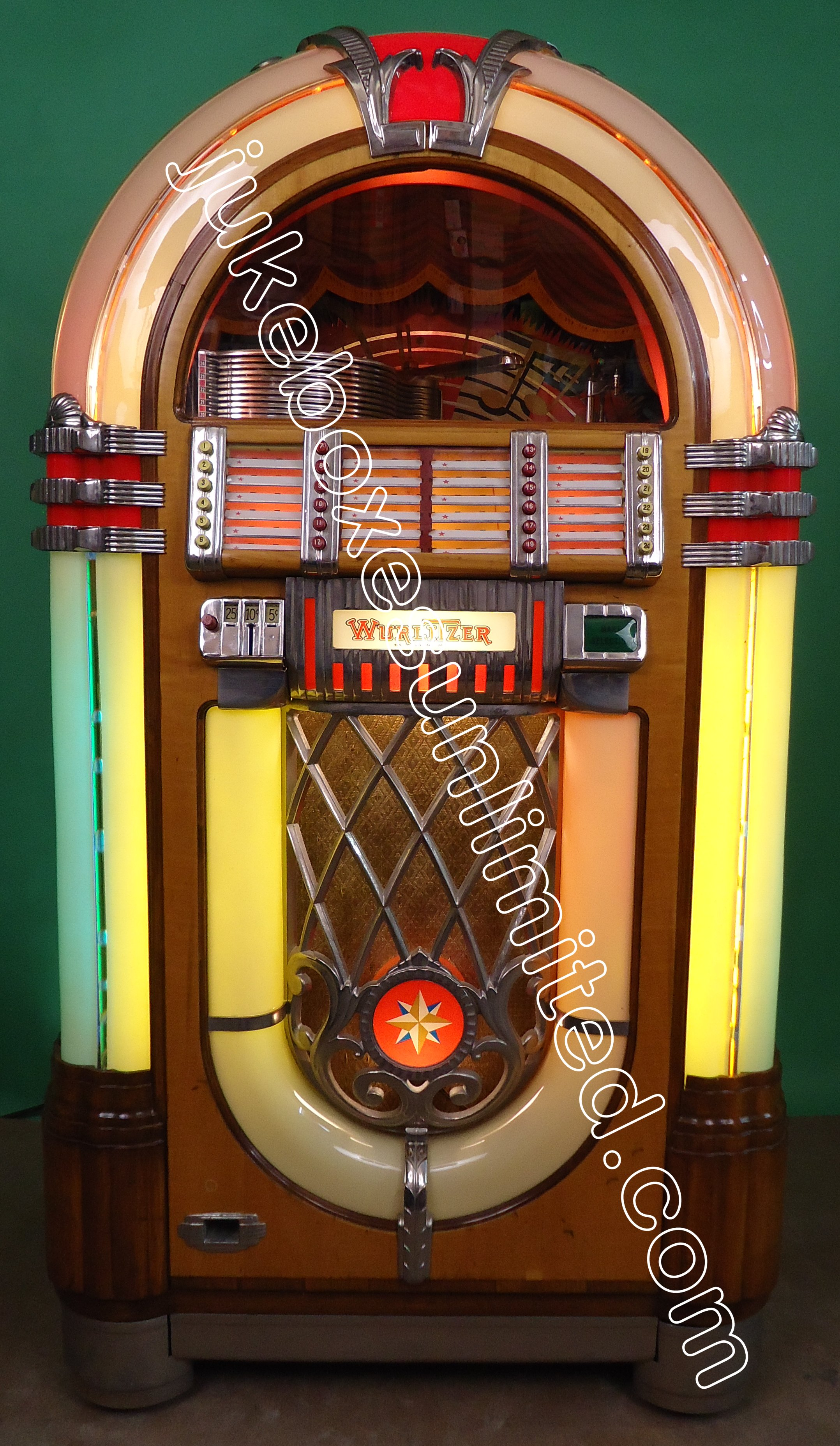 jukeboxes unlimited los angeles jukeboxes for sale. Black Bedroom Furniture Sets. Home Design Ideas